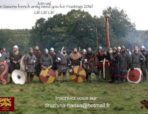 Le projet Saxon Army pour Hastings 2016