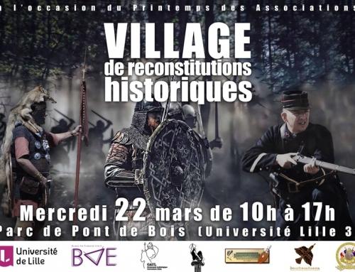 Journée de l'archéologie expérimentale – Université Lille 3