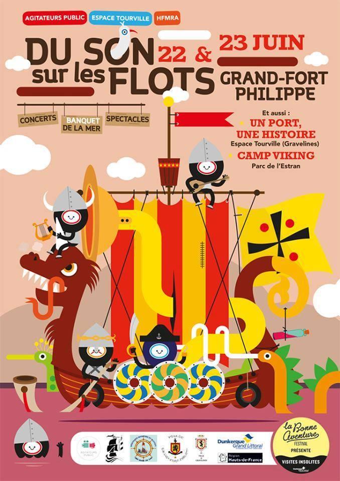 Camp Viking Grand-Fort Philippe 22 et 23 juin