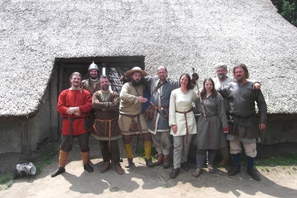 Eindoven (NL) Whitsun Viking event 8 au 10 juin